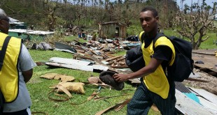 Church Assists Cyclone Winston Victims in Fiji