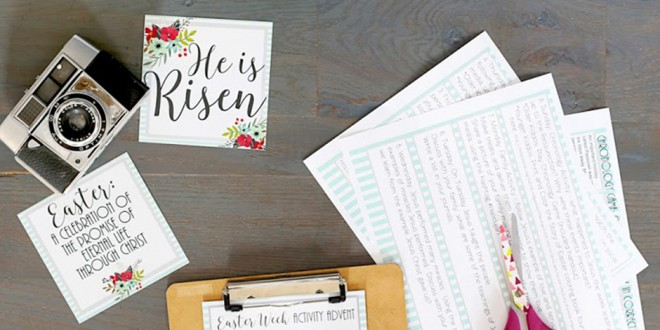 FREE Easter Kits from Popular Mormon Artists and Designers
