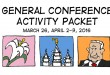 FREE General Conference Activity Coloring + Activity Packets 2