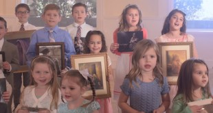 "Primary Children Sing Beautiful Version of ""I Feel My Savior's Love"""