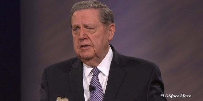 The Highlights from Elder Holland's Face 2 Face Event With Young Single Adults