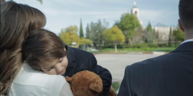 Beautiful Arrangement of 'Families Can Be Together Forever' Focuses on Adoption