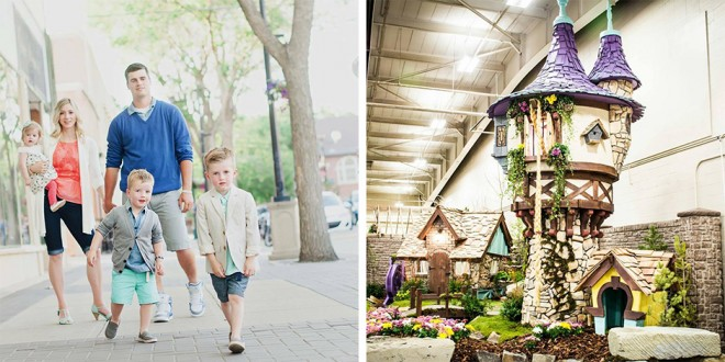 LDS Family Builds Dream Playhouses, Land TV Show on TLC