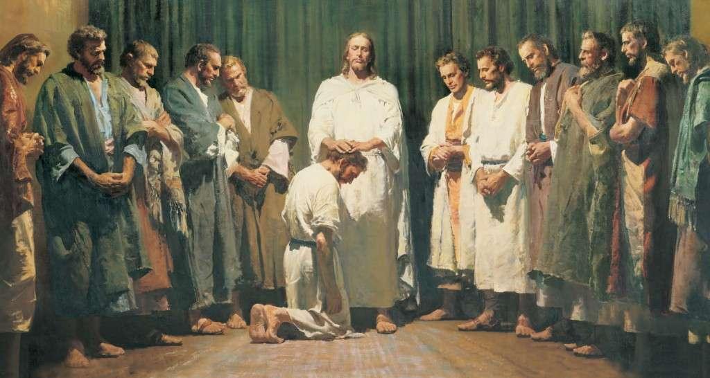 christ ordains apostles