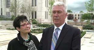 President Dieter F. Uchtdorf Visits, Comforts Brussels This Week