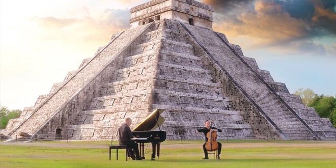 The Piano Guys Release Jungle Book Themed Music Video at Chichén Itzá