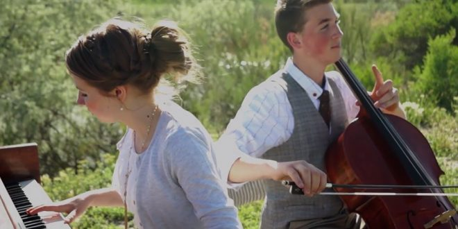 Two LDS Teens Perform Beautiful Homeward Bound Medley