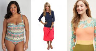 10 Beautiful and Modest Bathing Suits
