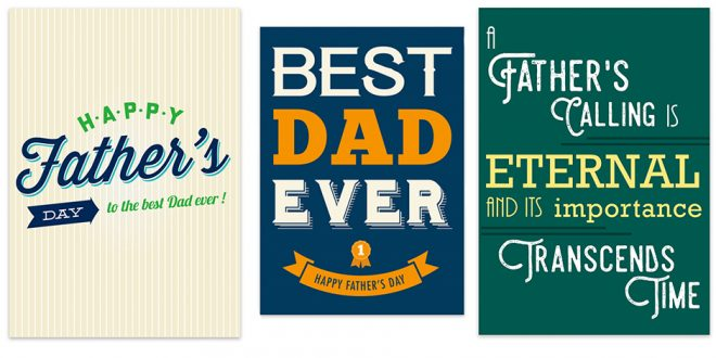 These FREE LDS Printable Cards are Perfect for Father's Day