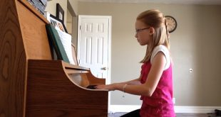 "This LDS Teen Plays ""Come Thou Fount of Every Blessing"" Beautifully!"