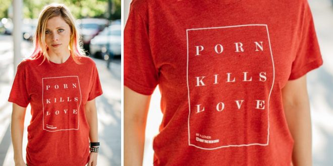 "LDS Drummer Elaine Bradley Says Why She Chose to Wear ""Porn Kills Love"" Tee on Television"