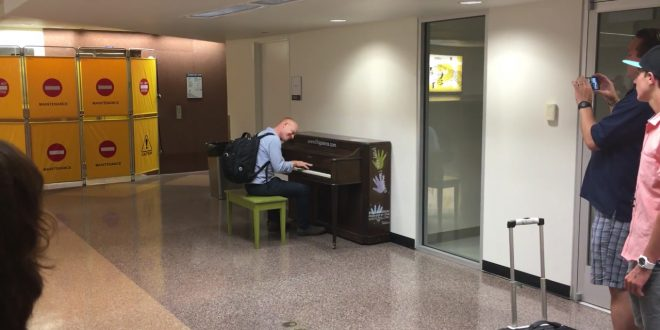The Piano Guys Found a Random Piano at an Airport. What Happens Next is Magic!