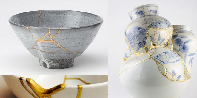 This Beautiful Japanese Art of Fixing Pottery Teaches Us Gospel Truth