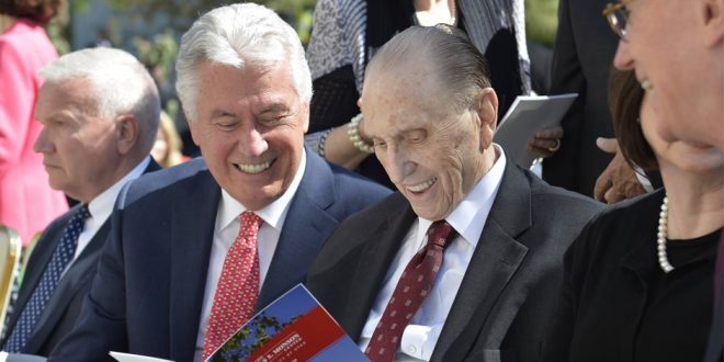 University of Utah Names Historic Building After President Monson