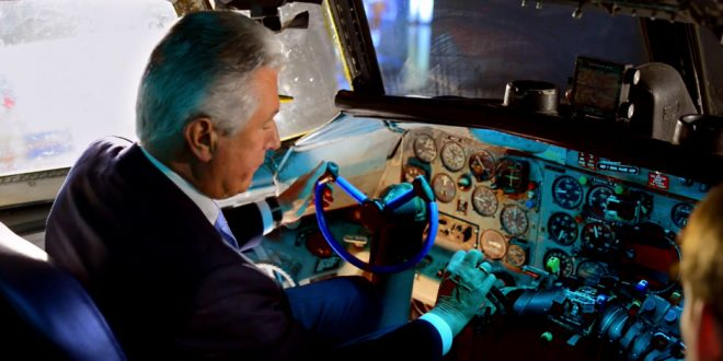 Watch This Precious Video of President Uchtdorf Showing His Grandson A Historic Plane