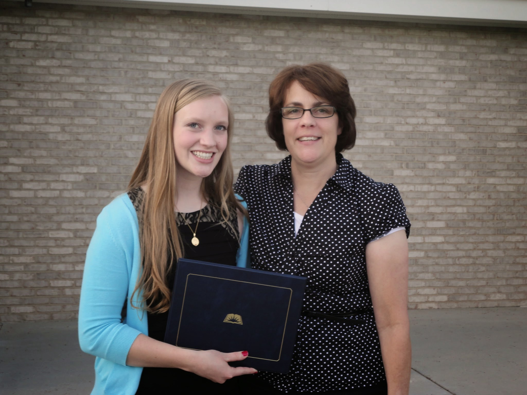 I graduated from seminary in Utah, and of course had to take a photo with my mother. I moved to Utah for my senior year of high school.