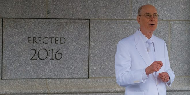 Philadelphia Pennsylvania Temple Is Dedicated by President Henry B. Eyring