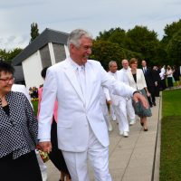 President Dieter F. Uchtdorf Rededicates Freiberg Germany Temple
