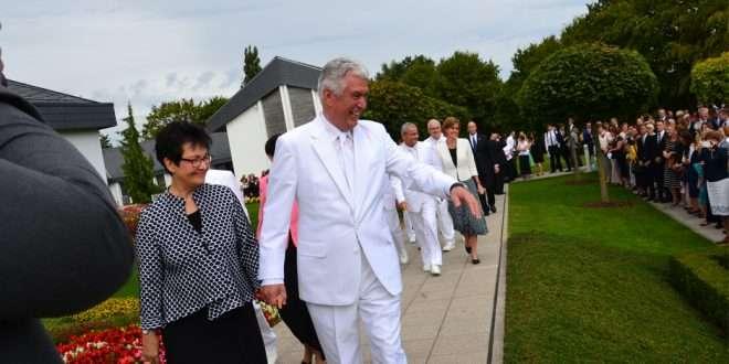 President Dieter F. Uchtdorf Rededicates Freiberg Germany Temple