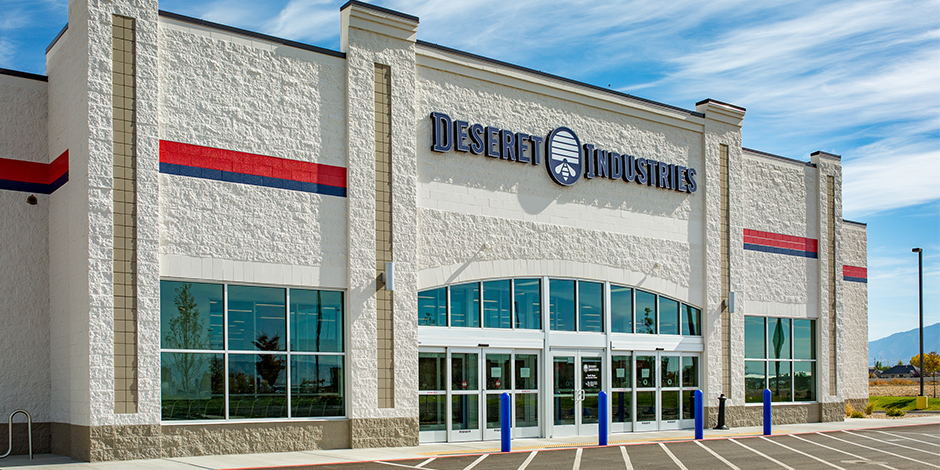 Deseret Industries Opening New Thrift Store In Springville Utah on Deseret Industries Thrift Store