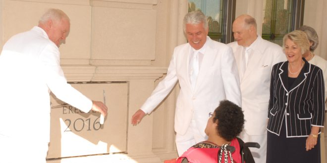 Fort Collins Colorado Temple Dedicated by President Uchtdorf
