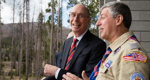 President Eyring Dedicates Thomas S. Monson Lodge