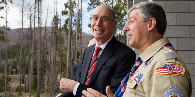 President Eyring Dedicates Thomas S. Monson Lodge