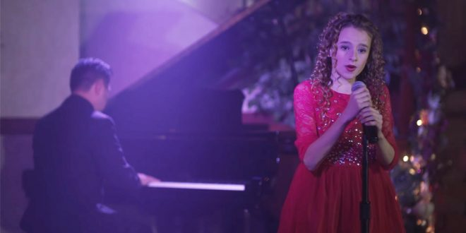 "11-Year-Old LDS Singer Sparkles in ""What Child Is This?"""