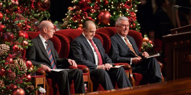 Don't Forget to Put the First Presidency's 2016 Christmas Devotional on Your Calendar