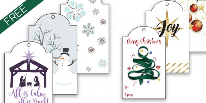 picture about Christmas Tag Free Printable referred to as No cost Printable LDS Xmas Present Tags LDS Everyday