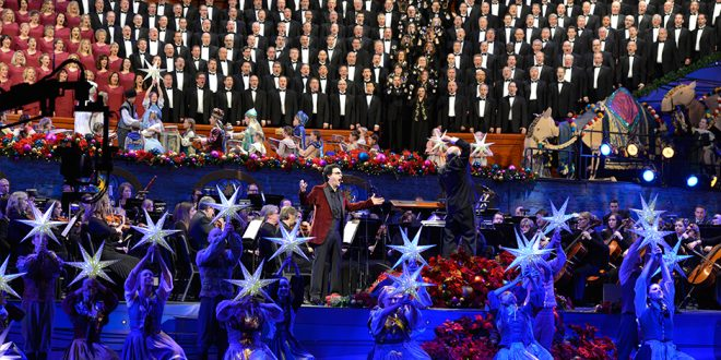 Lds Christmas Concert.Mormon Tabernacle Choir Performs Annual Christmas Concert