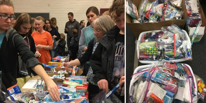 Mormons in Tennessee Assemble Kits for Wildfire Victims