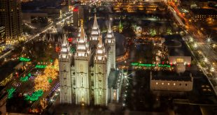 The History of the Christmas Lights on Temple Square