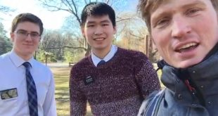 Stuart Edge, LDS Missionaries Spend a Day Serving New York City