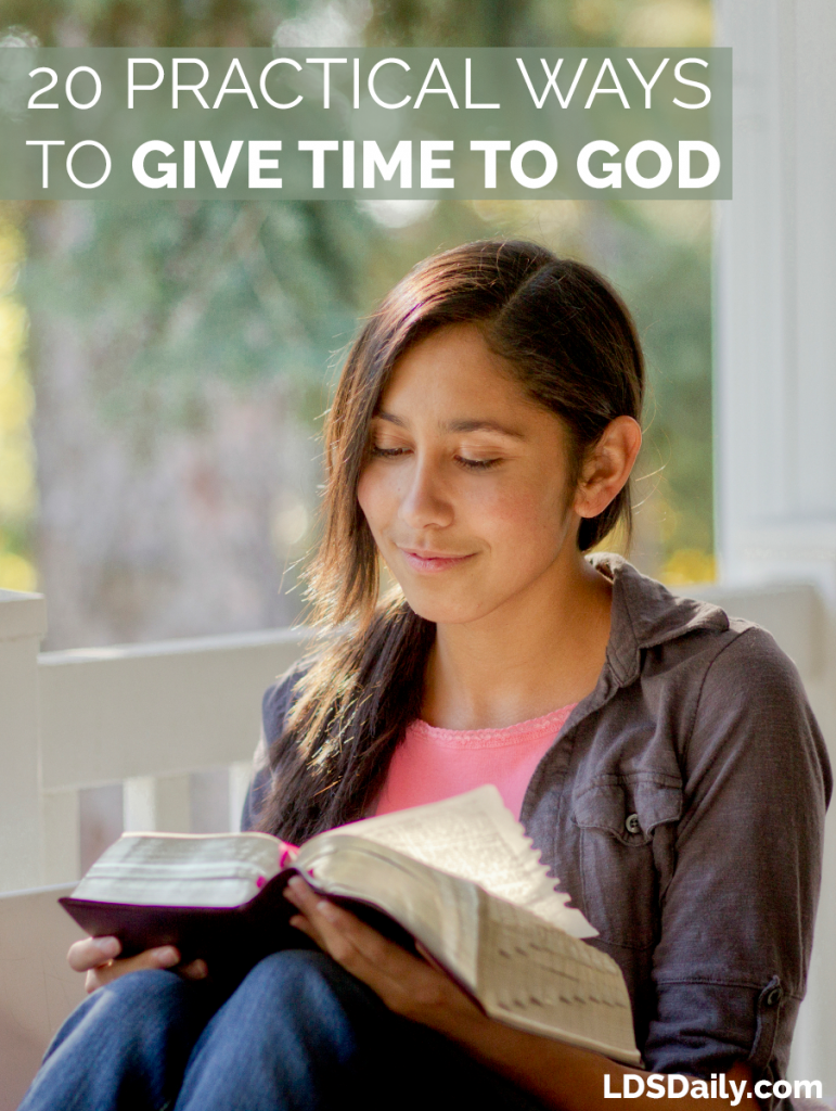 20-practical-ways-to-give-time-to-god