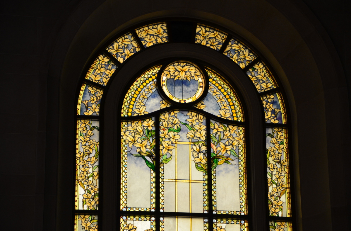 Window Detail. Courtesy of Intellectual Reserve, Inc.