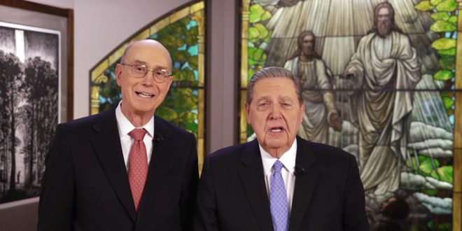 President Eyring, Elder Holland To Host Live Chat With LDS Youth