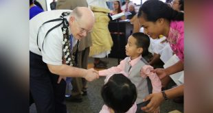 Elder Dale G. Renlund Meets with Tongan Saints, Royal Family