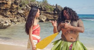 Meet the Real Life Maui in New Moana Video at Polynesian Cultural Center