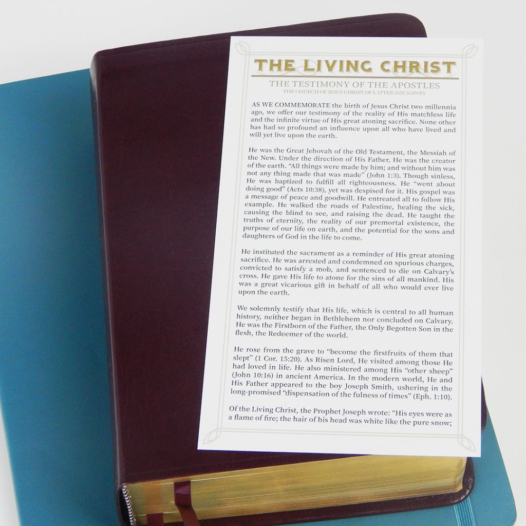 photo regarding The Living Christ Free Printable titled The Dwelling Christ\