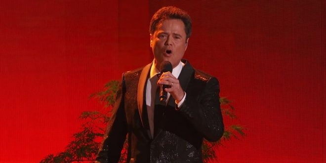 "Watch Donny Osmond Sing ""I'll Make a Man Out of You"" on Dancing with the Stars"