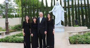 Elder Neil L. Andersen Shares Memories of France, Paris Temple Dedication
