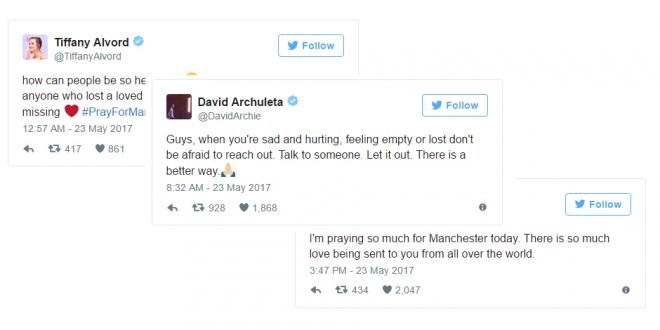 LDS Celebs React to Manchester Bombing, Offer Condolences