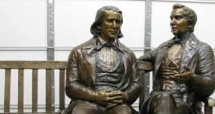 Stolen 800-LB Statue of Joseph Smith & Brigham Young Found