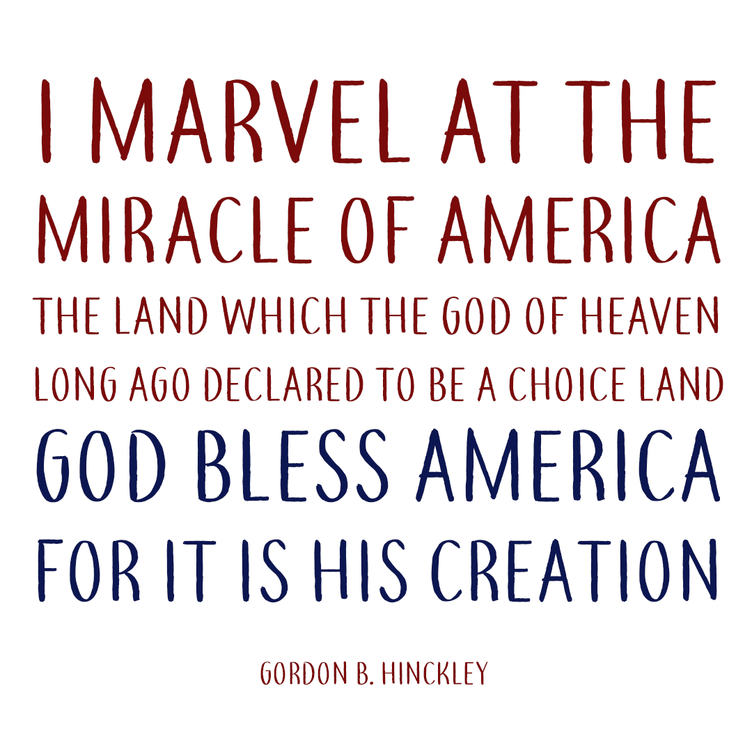 8 Lds Fourth Of July Quotes Lds Daily