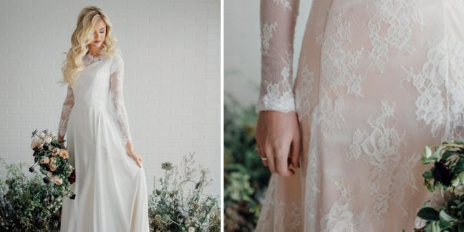 462e2f9e8f95 25 Modest Wedding Dresses with Long Sleeves | LDS Daily