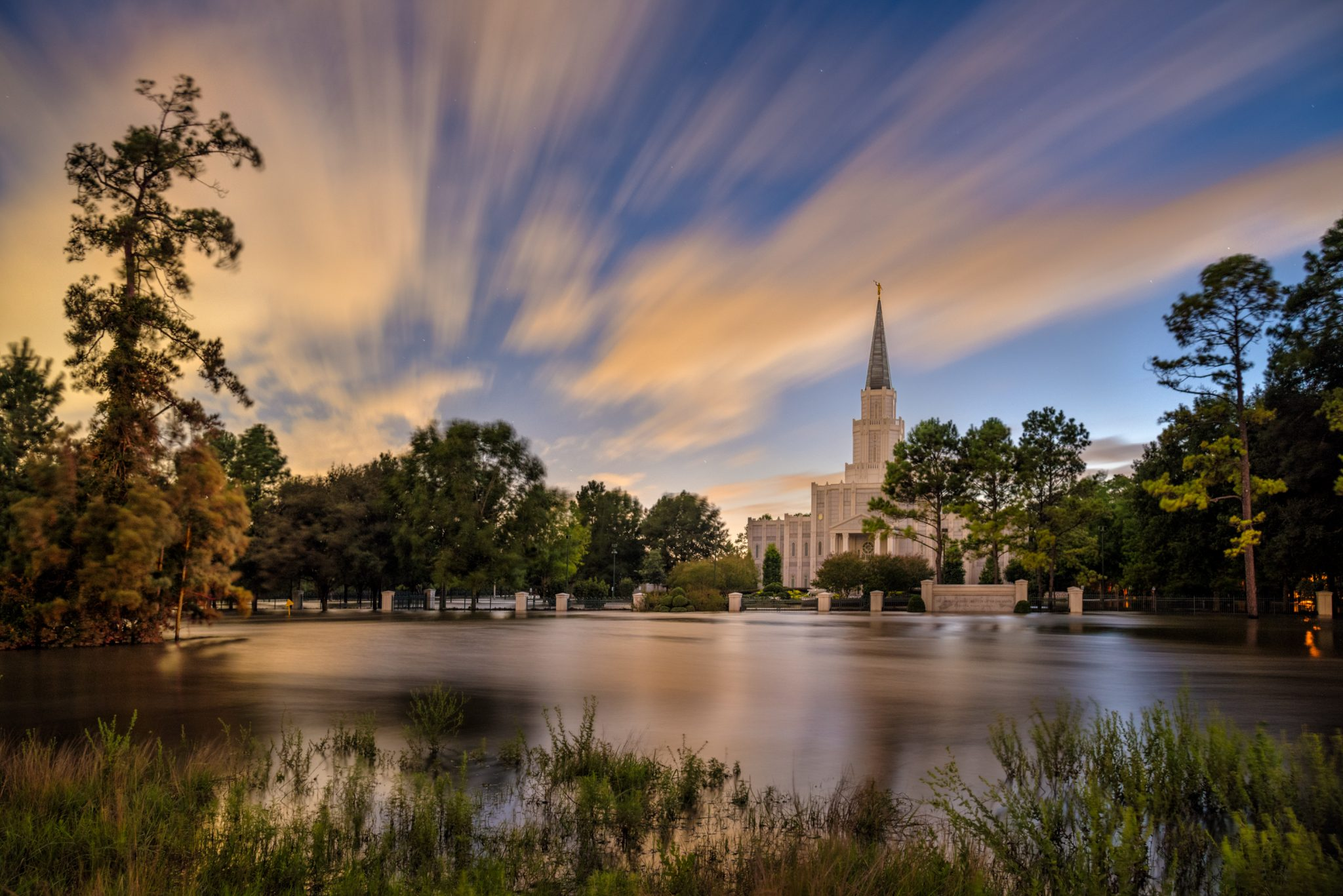 Update Houston Texas Temple Suffers Significant Damage