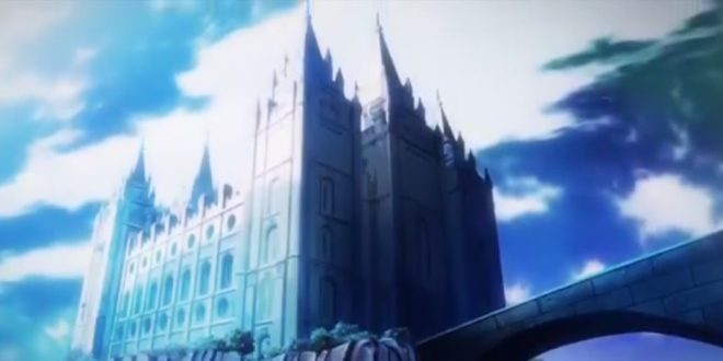 Mormon Temple Makes Surprise Appearance in Japanese Anime