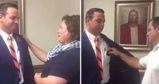 This LDS Missionary's Parents Take Off His Name Tag & Make the World Cry