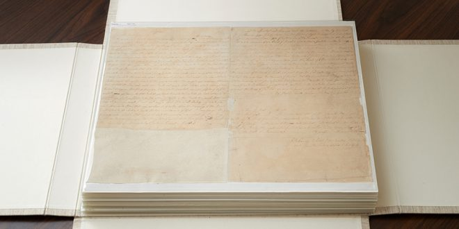 LDS Church Acquires Printer's Manuscript of Book of Mormon